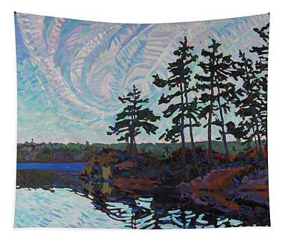 White Pine Island Tapestry