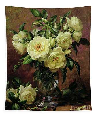 White Roses - A Gift From The Heart Tapestry