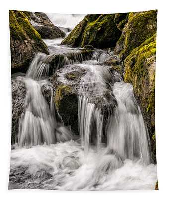 White Water Rapids Tapestry