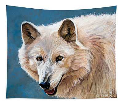 White Wolf Tapestry