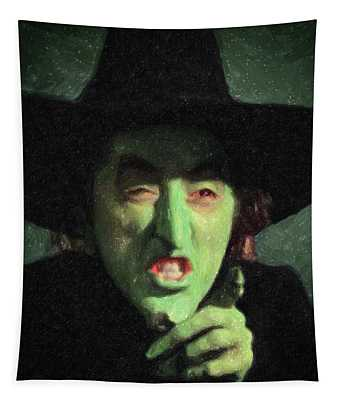Wicked Witch Of The East Tapestry