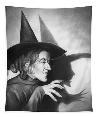 Wicked Witch Of The West Tapestry