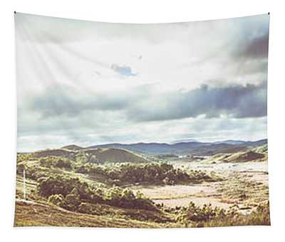 Wide Open Country Australia Tapestry