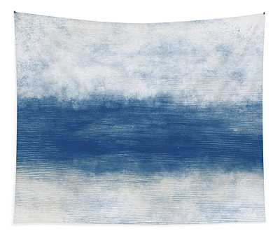 Wide Open Ocean- Art By Linda Woods Tapestry