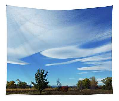 Wild Clouds Tapestry
