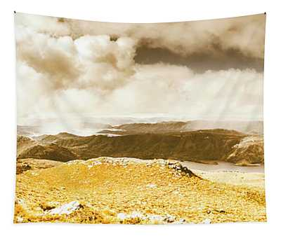 Wild Country Lookout Tapestry