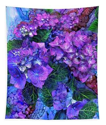 Wild Hydrangeas Tapestry