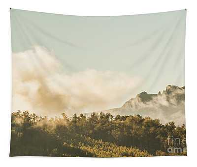 Wild Morning Peak Tapestry