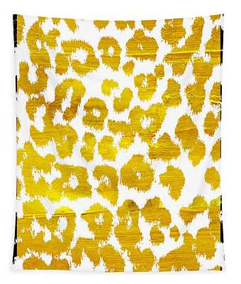 Wild Thing Leopard Pattern Tapestry