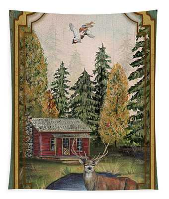 Wilderness Lodge-b Tapestry