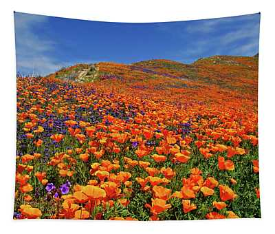 Wildflower Jackpot Tapestry