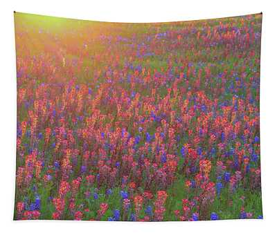 Wildflowers In Texas Tapestry