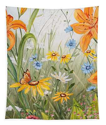 Wildflowers-jp3254 Tapestry