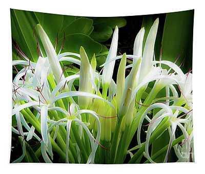 Wildflowers Of Hawaii Tapestry