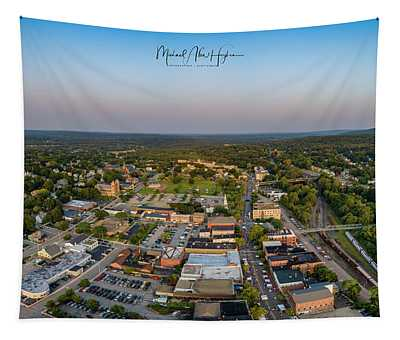 Willimantic Panorama Tapestry
