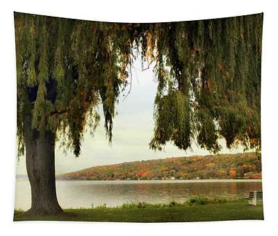 Willows Of Stewart Park Tapestry