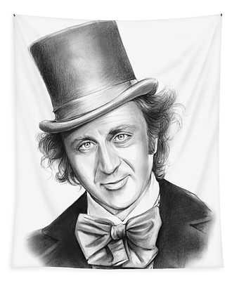 Willy Wonka Tapestry