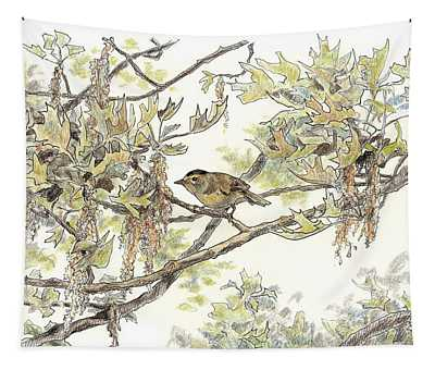 Wilson's Warbler Tapestry