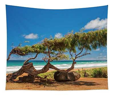 Wind Blown Tree Tapestry