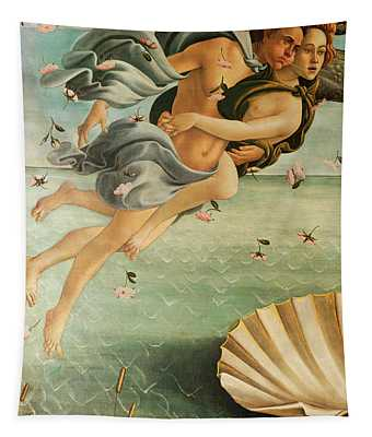 Wind God Zephyr Tapestry