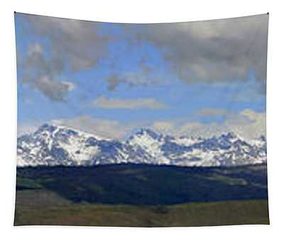 Dm9504-wind River Range Panorama  Tapestry