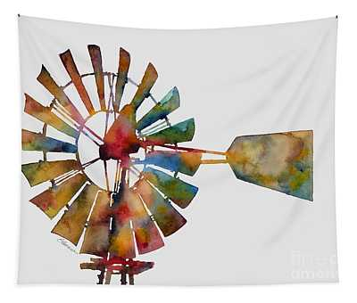 Windmill Tapestry