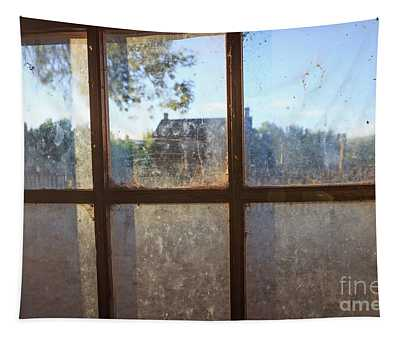 Window Grafton Ghost Town Tapestry