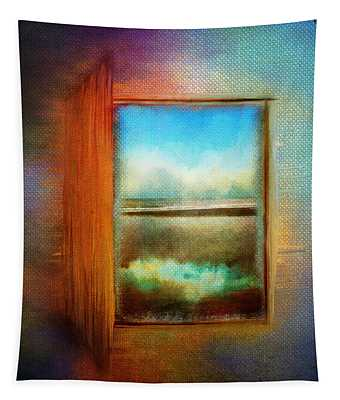 Window To Anywhere Tapestry
