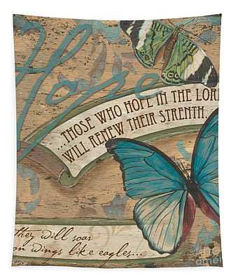 Wings Of Hope Tapestry