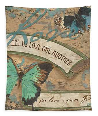 Wings Of Love Tapestry