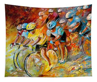Winning The Tour De France Tapestry