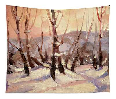 Winter Grove Tapestry