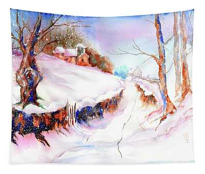 Winter Snow Tapestry