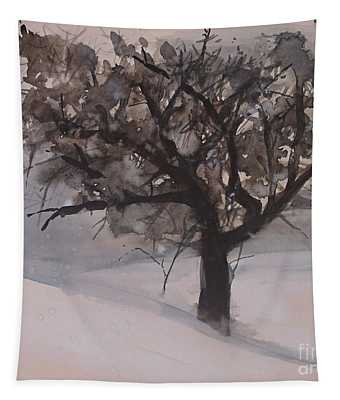 Winter Tree Tapestry