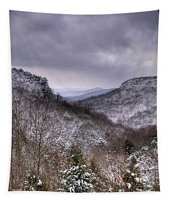 Winter Valley Tapestry