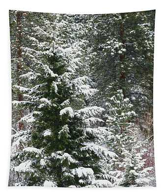 Winter Woodland Tapestry
