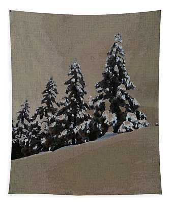 Winters Eve Tapestry
