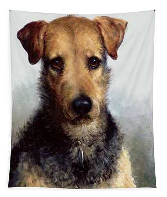 Wire Fox Terrier Tapestry