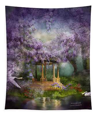 Wisteria Lake Tapestry