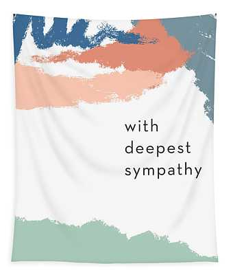 With Deepest Sympathy- By Linda Woods Tapestry