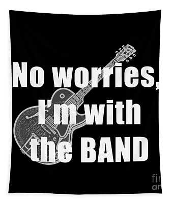 With The Band Tee Tapestry
