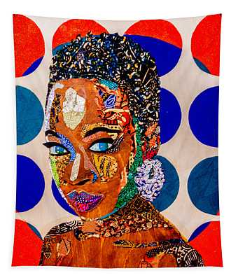 Without Question - Danai Gurira I Tapestry
