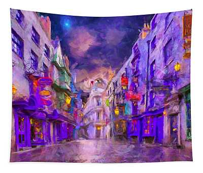 Wizard Mall Tapestry