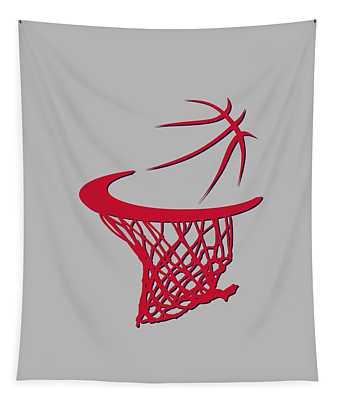 Wizards Basketball Hoop Tapestry