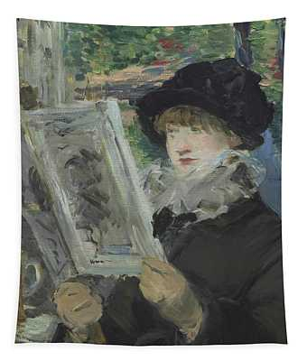 Woman Reading Tapestry