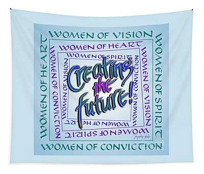 Women Of Vision Tapestry