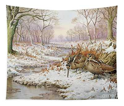 Woodcock Tapestry