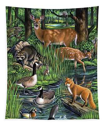 Woodland Tapestry