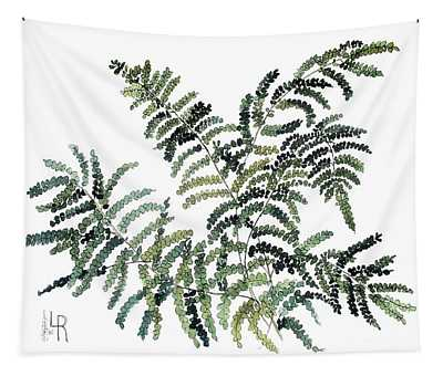 Woodland Maiden Fern Tapestry