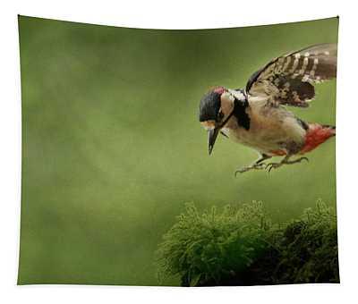 Woodpecker 19 Tapestry
